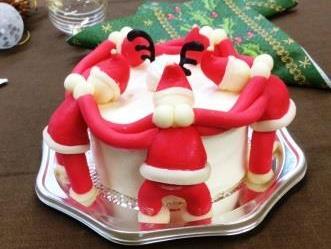 クリスマスケーキ de sweets-deli研究会