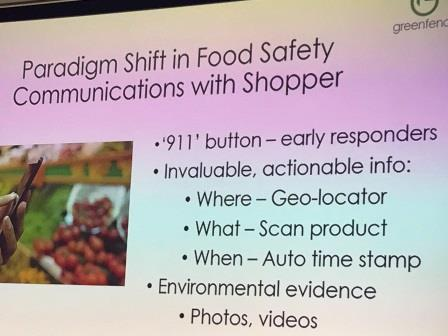 食品安全は、もはや情報テクノロジー  GFSi2018会議