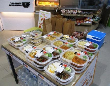 バンコクの弁当事情