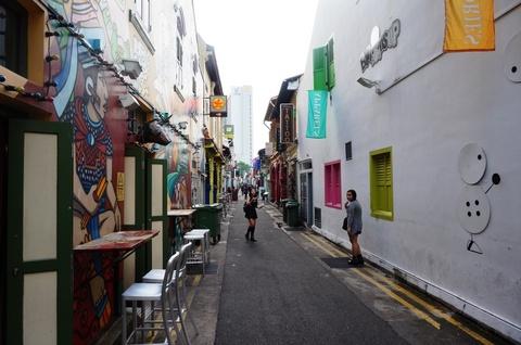シンガポールのおしゃれな街あちこち 2014.9月